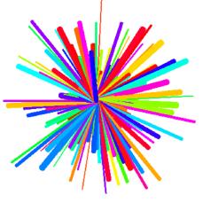 Rainbow Wheel Example 2